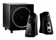 Speaker System 2.1 Logitech Z-523, 2*10+20W, 48-20000Hz, line in/out , Black/White ( 980-000367)