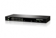 16 PORT PS/2 USB KVMP SWITCH W/230V ADP ( CS1316)