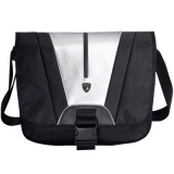 "Bag ASUS LAMBORGHINI MESSENGER for 12"" laptop/Black&silver 470 (L) x 160 (W) x 400 (H) ( 90-XB1W00ME00010-)"