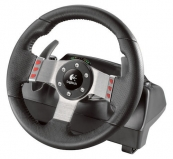 Wheel Logitech G27 Racing, PC/PS3/PS2, USB/PSGamePort (D-Pad, 16-prog.btn, Shifter module, Gas, brake&clutch pedal,ForceFeedBack, 900°) ( 941-000046)