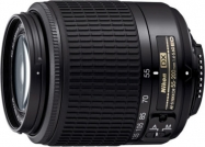 Объектив Nikon AFS DX VR 55-200mm f/4-5.6G IF-ED (JAA798DA)
