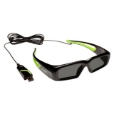 NVIDIA Wired 3D Vision glasses USB KIT ( 3D Vision Wired)