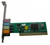 Звуковая карта * PCI C-media 8738 4channel (C-MEDIA 4CH)